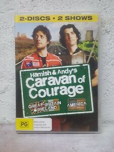 Hamish And Andy's Caravan Of Courage DVD REGION 4