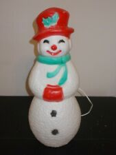 Union Products,Inc. Plastic Christmas Snowman Lighted Blow Mold 22