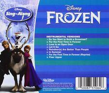 Disney Frozen Karaoke Childrens CD Books Sing Along Music Kids Songs