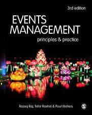 Events Management Principles & Practice by Razaq Raj, Paul Walters, Tahir Rashid