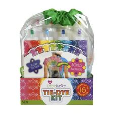 Create Basics Tie Dye Kit, 56 Piece 8 Color Fun Pack! Brand New Bonus Backpack!