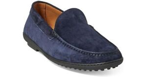 Ralph Lauren Purple Label Suede Leather Ronan Driving Loafer New $425