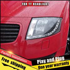 For Audi TT Headlights assembly Bi-Xenon Lens Double Beam HID KIT 2000-2006
