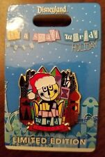 Disneyland Limited Edition Christmas Pin It's a Small World Ride Holiday 2017