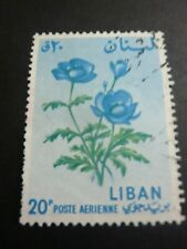 liban stamp old   timbre