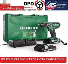 Hitatchi Power Tools HITDV18DBF2L 18 V Cordless Combi Drill with 2 x 3 A Li-Ion