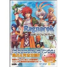 Ragnarok Online DS Official Perfect Guide Gemaga BOOKS / DS