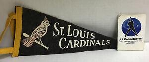 Vintage mini St Louis Cardinals pennant felt