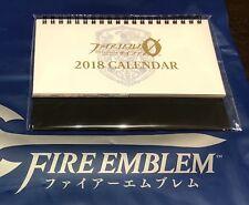C93 Fire Emblem cipher Ǿ 2018 desk calendar Comic Market 93 comiket ファイアーエムブレム