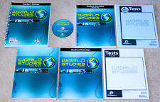 BJU Bob Jones 7th grade WORLD STUDIES (Student TE) COMPLETE HISTORY SET 3rd ed