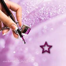 aerógrafo plantillas adhesivas -W013- NAIL ART - Estrella Star Cielo Noche 80x