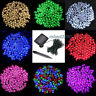 100/200/300/400/500 LED String Fairy Lights Solar Power Garden Christmas Deco