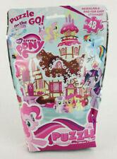 "My Little Pony Puzzle On The Go 48 Piece Travel Toy Hasbro 15"" x 11.2"" Children"