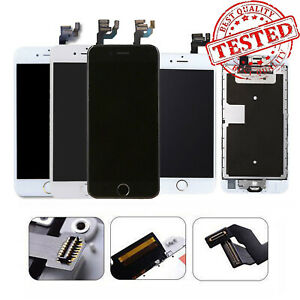For iPhone 7 6 6s 8 Plus LCD Display Complete Screen Assembly Replacement+Button