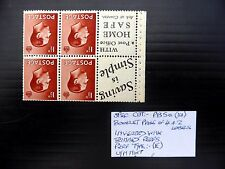 Gb 1936 Ed.Viii - 1½d Booklet Pane As Described U/M Fp9433