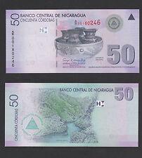 "Nica 00004000 ragua 50 Cordobas (2007) P 203 Replacement ""A/R"" - Unc"