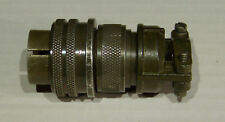 MS3106A-18-19P 10-pin plug, shell-size 18 w/cable-clamp MS3057-1010-1