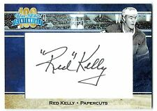 2017 President's Choice Blue & White Centennial SP PAPERCUTS AUTO Red Kelly