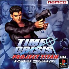 PS1 Time Crisis Project Titan Japan PS PlayStation 1 F/S