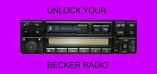 BECKER RADIO CODE BMW MERCEDES TRAFFIC MEXICO INDIANAPOLIS