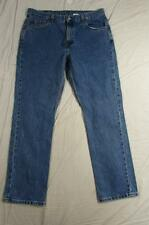 Levi 505 Regular Fit Straight Leg Womens Faded Denim Jean Measure 34x30 Vtg