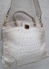 -AUTHENTIQUE  sac à main   vintage FURLA cuir esprit croco  TBEG   bag