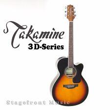 TAKAMINE ED3NCBSB SERIES 3. SPRUCE TOP GUITAR. ROSEWOOD BACK & SIDES