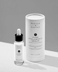 Pestle & Mortar Pure Hyaluronic Serum 30ml Moisturiser for Fine Lines AntiAgeing