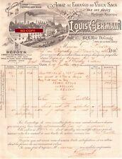 Beau Document du 19/07/1903 LOUIS GERMAIN - Achat échange vieux sacs - Dijon 21