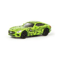 """Schuco 452634300 Mercedes AMG GT """"ERLKÖNIG"""" Verde/Negro Escala 1:87 (H0) NUEVO"""