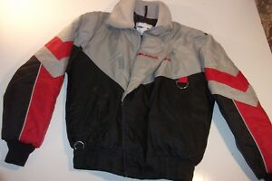 Vintage Polaris Snowmobile Jacket Mens S - MADE IN USA !! - Nice - FREE SHIPPING