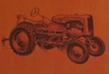 Allis Chalmers Model B 60 Series 1 Row Cultivator Operators + Parts Manual AC