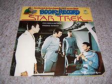 STAR TREK 1979 Peter Pan Book & LP Record Set BR 522 (2 Stories)   VG+