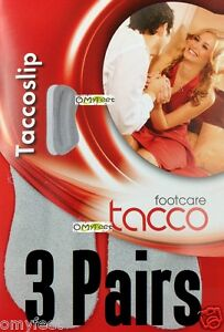3pair Tacco Suede Heel Grip Slip Shoe Insoles Inserts Tacco-slip Tacco-heel-grip