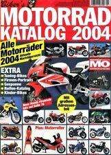 MO Kat04 + Biker's MOTORRAD-KATALOG 2004 + 236 Seiten Informationen