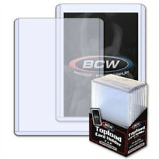 "10 - Thick Card Protectors - Toploads Memorabilia Cards 3.5 mm 3"" x 4"" - 1/8"""