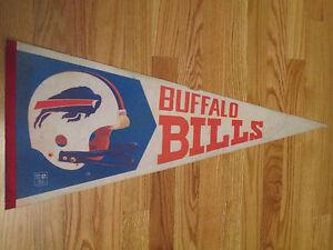 "1970s BUFFALO BILLS Helmet 30"" Pennant O.J. SIMPSON"