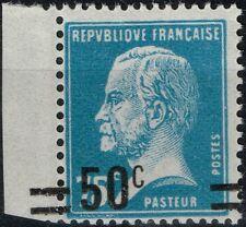 FRANCE PASTEUR N° 219 TB VARIETE VALEUR SUR VALEUR NEUF * TRACE CHARN COTE 160 €