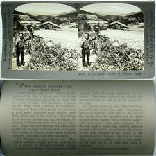 Keystone Stereoview of Basque Country in Northern SPAIN From 600/1200 Card Set