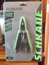 SCHRADE Tough Tool Multi Tool Knife Pliers w/ Carry Case BRAND NEW stainless