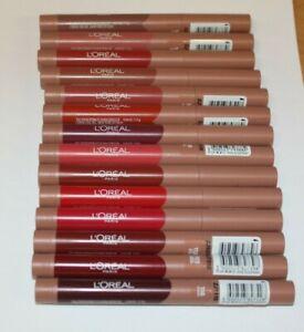Loreal Infallible Matte Lip Crayon - 1.3g - Colour choice - New