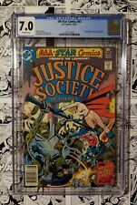 🔥 All Star Comics #67 CGC 7.0 Justice Society NEWSSTAND COPY 1977 🔥