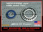 THUNDER TIGER PRO 61 Pro 60/90 H RC Engine BEARINGS NACHI Japan USBB OS 61 WC-H