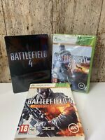 Battlefield 4 Steel Tin Deluxe Edition - Microsoft XBOX 360 Game - Superb Cond