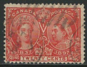 Canada, 1897, 20c Jubilee, Scott #59, Used, Fine-Very Fine