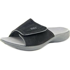 Dr. Comfort Women's Kelly Black Sandals: Black 8 Wide (C/D)