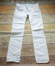 NEW $198 Diesel Jeans Safado White Men 31X32 W31 L32 Reg Slim Straight 008QU