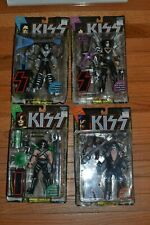 1997 Kiss Ultra Action Figures By Mcfarlane Toys Set Of 4 Gene Simmons Ace Paul