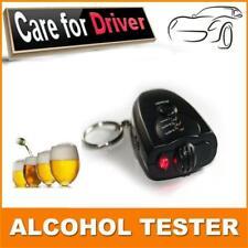 Car Key Chain Alcohol Tester. Digital Breathalyzer