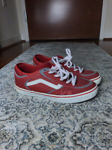 VANS RARE!! Geoff Rowley Classic Red and White Read Description size 8.5